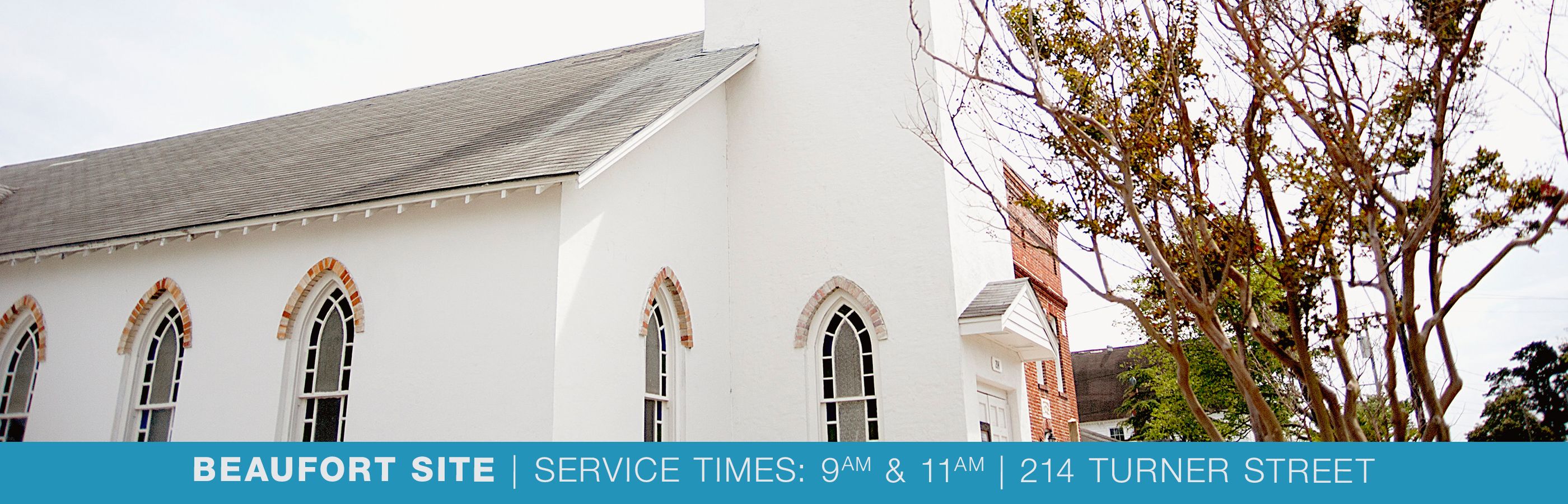 New Beaufort Church Header Picture